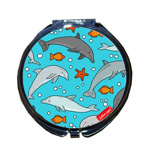 Selina-Jayne Dolphins Limited Edition Compact Mirror